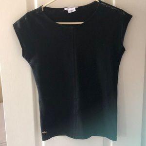 🐊 Lacoste embellished cotton t-shirt